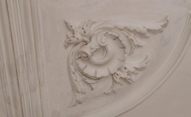 Plafond restauratie 5